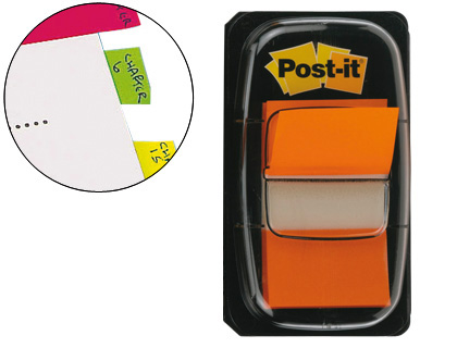 Marcadores Post-It Index medianos