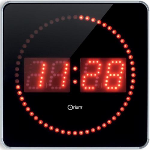 Con Led Reloj Rojos Pared Digital Orium De Studio cJuFK3Tl15