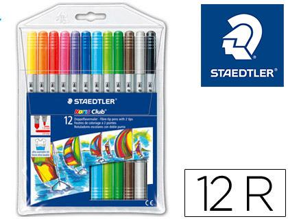Rotulador Staedtler Noris Club doble punta
