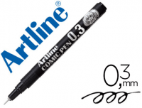 Rotulador calibrado Artline micrométrico 0.3 mm