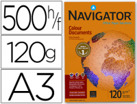 Navigator Colour Documents, Din A3, 120g, 500 hojas
