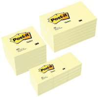 Comprar Notas Post-It amarillas clásicas