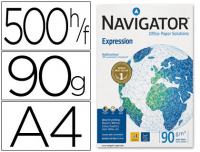 Papel Navigator Expression A4 90g,  paquetes 500h