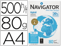 Papel Navigator Hybrid A4 80g, 5 paquetes 500h
